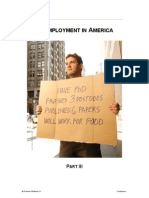 Unemployment in America III