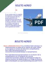 BOLETO AEREO