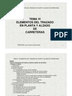 Elementos de Trazo en Planta