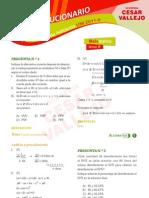 Solucionario Matemática Parte I - Admision UNI 2011-2 - Cesar Vallejo