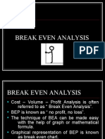 Unit5 Break Even Analysis