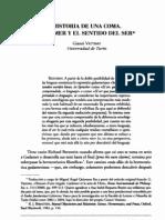 Vattimo, Gianni - Historia de una coma. Gadamer y el sentido del ser [Endoxa, nº 20, 2005]  DD2K