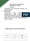 Incremental Model _ Presentasi