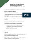 Petitorio Secundarios (ACES)