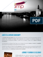 2011 Apache Bar Camp Spain Sponsorship Brochure