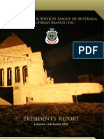 2010 RSL Presidents Report