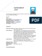 Up Dated Cv Muhammad Hassan