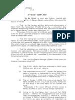 Complaint Aff Estafa
