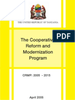 Cooperative Reform and Modernization Program CRMP
