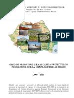 Ghid de Pregatire Si Evaluare Proiecte POS Mediu