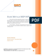 Base Metal Research Report by Kundan Narkhede - Integer Research & Services Pvt. Ltd.