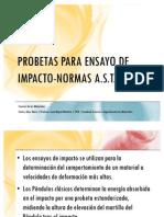 Probetas Ensayo Impacto-normas Astm