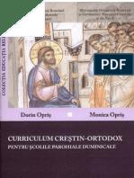 Curriculum Crestin-Ortodox 7-18 Ani