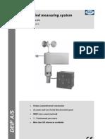 DEIF Wind Measuring System