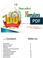 Himalaya Health Care Ppt
