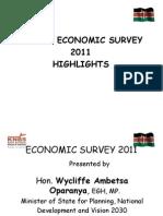 Economic Survey 2011