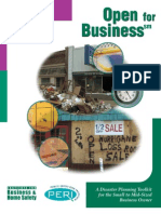 Build a Small Business Disaster Recovery Plan 02 (Disaster Planning Kit)
