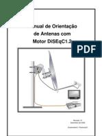 Manual de orientação antena com motor