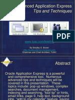 Advanced Application Express