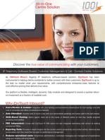 1001tech IPvox Inbound Call / Contact Centre - Datasheet