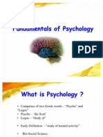 Introduction to Psycholgy 7-8-2011