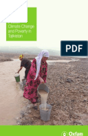 Reaching Tipping Point?: Climate change and poverty in Tajikstan