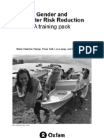 Gender and Disaster Risk Reduction