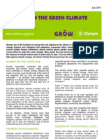 Gender and the Green Climate Fund