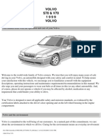 Volvo s70 v70 Owners Manual 1999