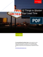 Reduce Lead Time