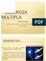 Scleroza Multipla (Bio - An I)