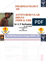 Pharmacotherapy of TB MBBS V Sem IIClass