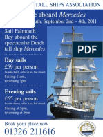 Mercedes Tall Ship Poster