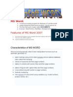 MS WORD 2007