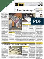 Noticia sobre Consultorio Urbano en El Comercio