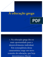 A educação grega