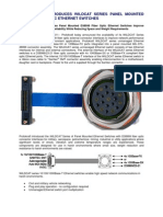PROTOKRAFT Introduces Wildcat Series Panel Mounted D38999 Fiber Optic Ethernet Switches