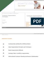 Customer Segmentation Principles