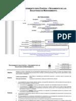 DOM P050 I6 001+Procedimiento+Para+Control+y+Seguimiento+de+Las+Solicitudes+de+Mantenimiento