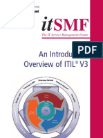 ItSMF an Introductory Overview of ITIL V3