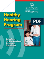 Healthy Hearing Manual