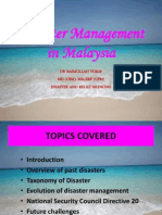 Disaster Management in Malaysia