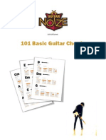 101 Basic Guitar Chords