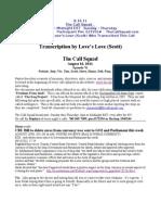 The Call Squad Transcription 8 16