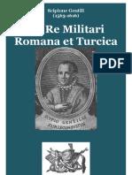 GENTILI Scipione de Re Militari Romana Et Turcica