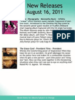 August 16 new releases