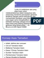 k1 & k2 Definisi Tamadun Islam