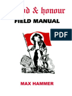 Blood and Honour Field Manual by Max Hammer