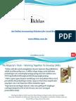 Ikhlas PR General Presentation English v1.0