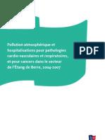 Pollution atmosphérique et hospitalisation pour pathologies cardiovasculaires et respiratoires